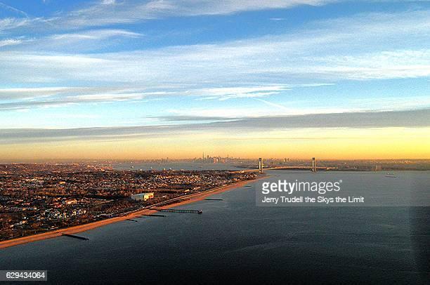 Staten Island and the Verrazano Narrows Bridge