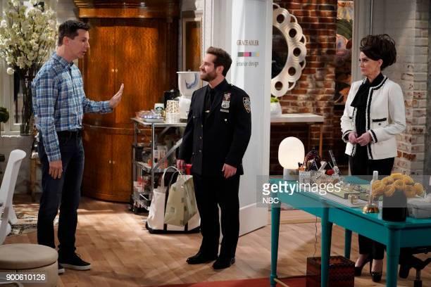WILL GRACE 'Staten Island Ferry' Episode 112 Pictured Sean Hayes as Jack McFarland Ryan Pinkston as Drew Megan Mulally as Karen Walker