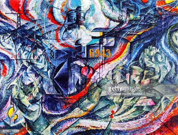The Farewells' by Umberto Boccioni 1911 Farewells was the first of Boccioni's threepart series States of Mind Umberto Boccioni 1882 1916 was an...
