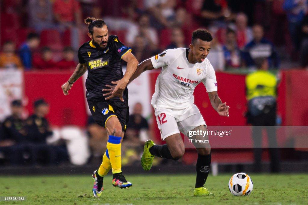 Sevilla FC v APOEL Nikosia: Group A - UEFA Europa League : Photo d'actualité