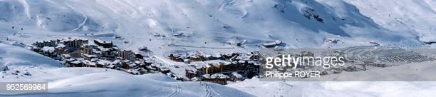 Station de Val Thorens dans les Trois Vallées Savoie France