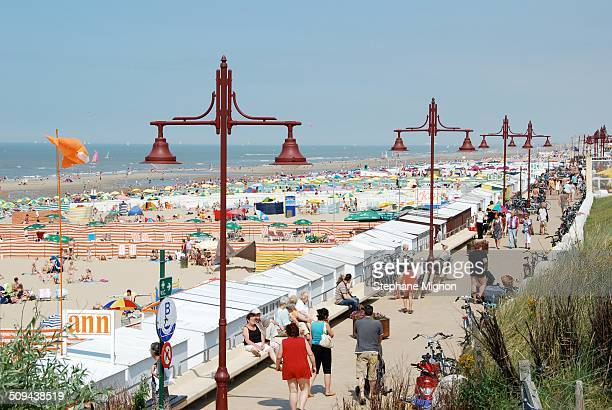 """Station """"Haan-Aan-Zee"""" has the most beautiful beach in the whole Belgian coast off 200 meter high tide, devoid of the breakwater, is the great..."""