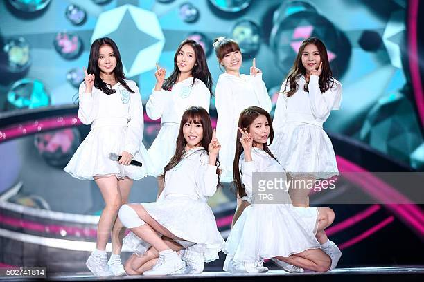 SBS TV station hold singing competition EXIDVIXXIUWonder GirlsTwiceLOVELYZSHINeeGFriend attend the big event in Seoul South Korea on 28th December...