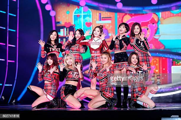 Station hold singing competition, EXID,VIXX,IU,Wonder Girls,Twice,LOVELYZ,SHINee,GFriend attend the big event in Seoul, South Korea on 28th December,...
