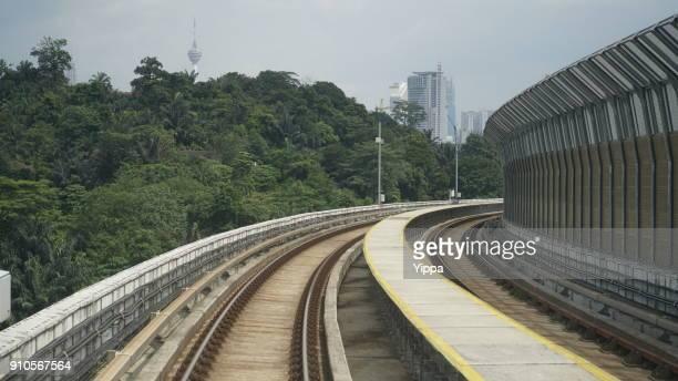 MRT Station, Kuala Lumpur, Malaysia