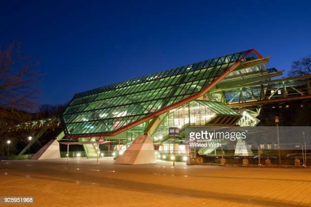 Station of the suspension railway, Kluse, Wuppertal, North Rhine-Westphalia, Germany