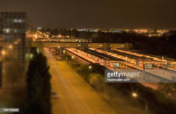 station shift - milton keynes stock photos and pictures