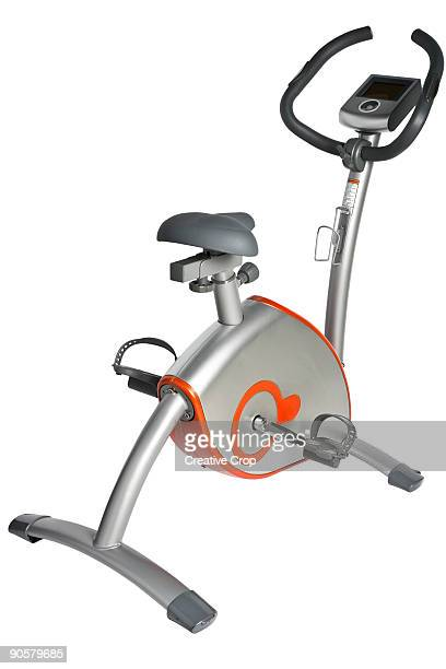 Stationary spinning exercise bike