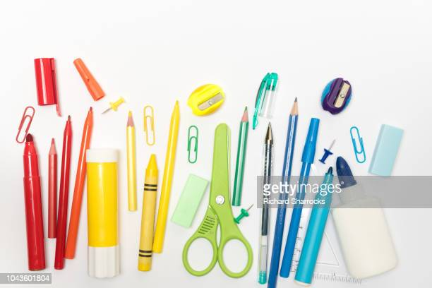 stationery items - felt tip pen stock pictures, royalty-free photos & images