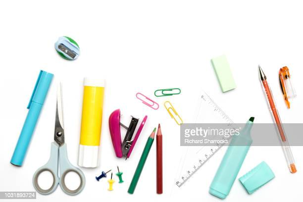 stationery - highlights stock pictures, royalty-free photos & images