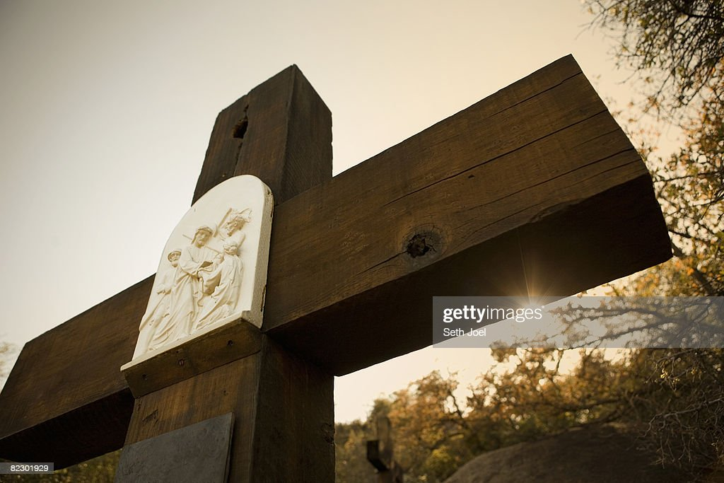 Stations of the Cross : Stock Photo