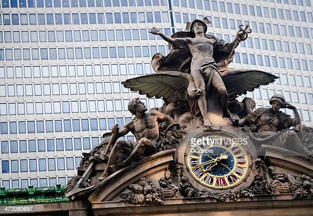 Statue über die Grand Central Station