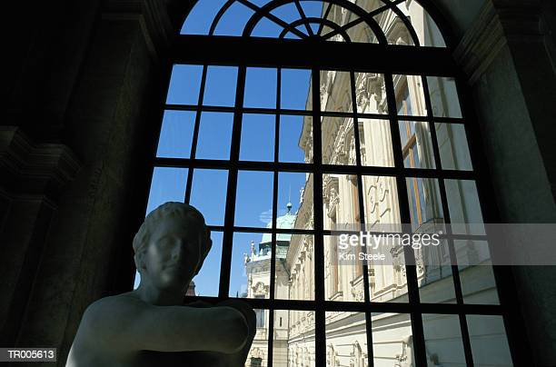 Statue and Window, Belvedere Palace, Vienna