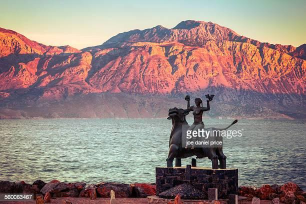 Statue at Agios Nikolaos, Crete, Greece