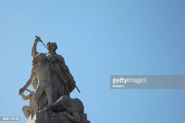 Statue at Altare della Patria