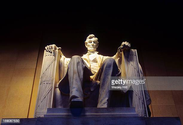 Statue at the Lincoln Memorial, Washington D.C.