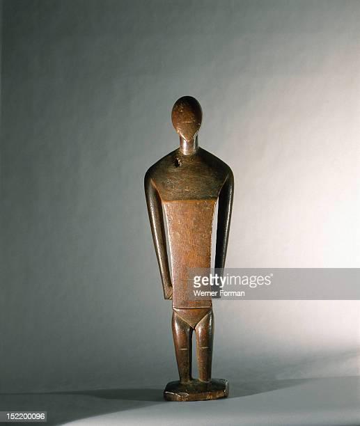 Statue believed to represent the Nukuoro goddess Sope Caroline Islands Oceanic 18th 19th c Nukuoro island Micronesia