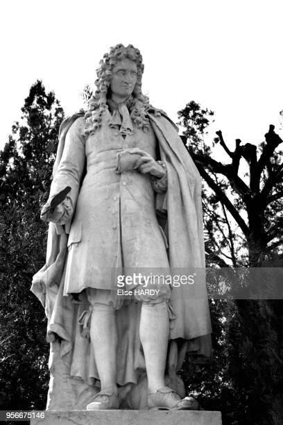 Statue de Jean de la Fontaine à ChâteauThierry dans l'Aisne en France