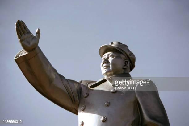Statue de Mao Zedong à Changsha, Chine.