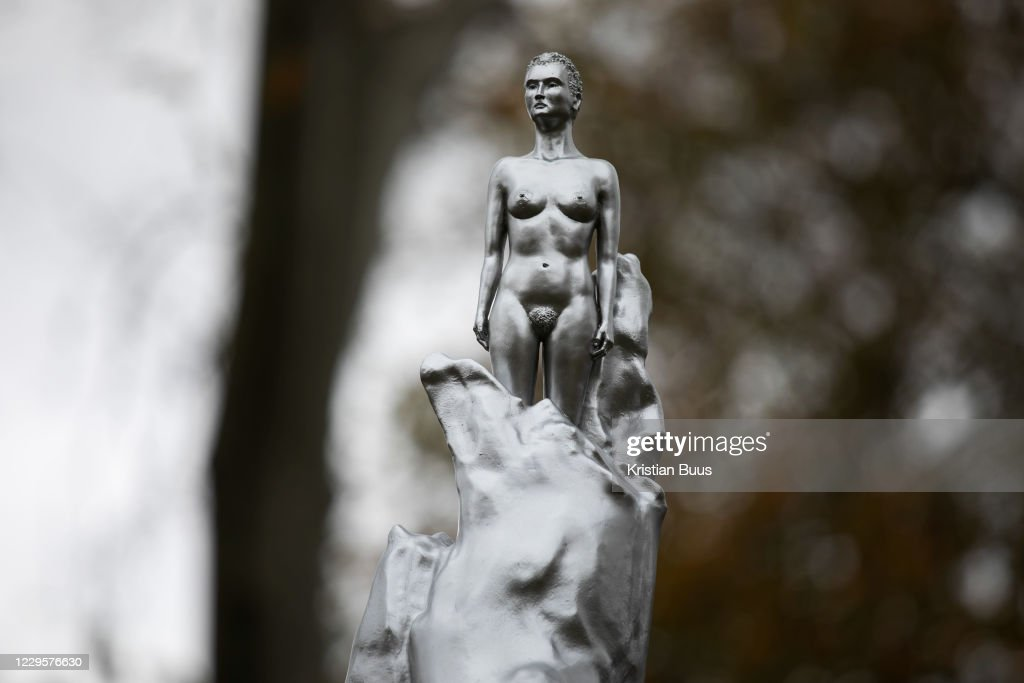 Statue Dedicated To Mary Wollstonecraft By Maggie Hambling : News Photo