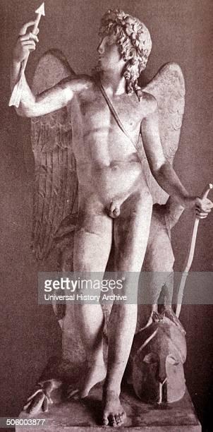 Statue depicting the triumph of eros by Bertel Thorvaldsen published in 'Die Kunst im deutschen Reich' was first published in January 1937 by...