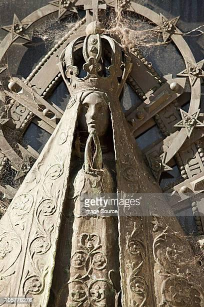Statue in Recoleta Cemetery, Buenos Aires, Argentina