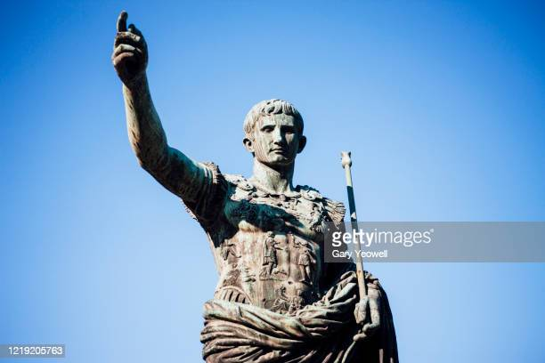 statue in rome - antiquities stock pictures, royalty-free photos & images