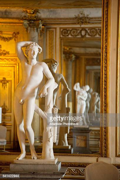 statue in the royal palace, stockholm, sweden - the stockholm palace stock pictures, royalty-free photos & images
