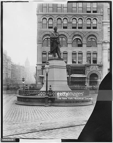 Statue of Abraham Lincoln Union Square New York New York 1895
