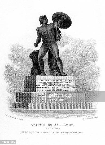 Statue of Achilles Hyde Park London 1827