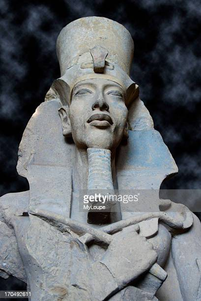 A Statue Of Akhenaten At Cairo Museum