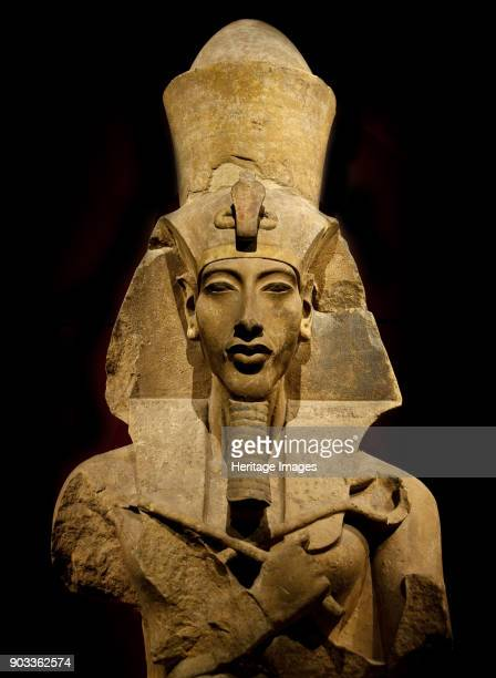 Statue of Akhenaten Found in the Collection of The Egyptian Museum Cairo