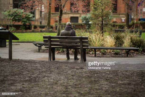 A statue of Alan Turing sits in Sackville Park in Manchester's Gay Village on February 1 2017 in Manchester England Tens of thousands of people...