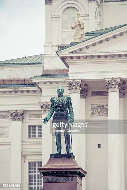 Statue of Alexander the Great In Helsinki