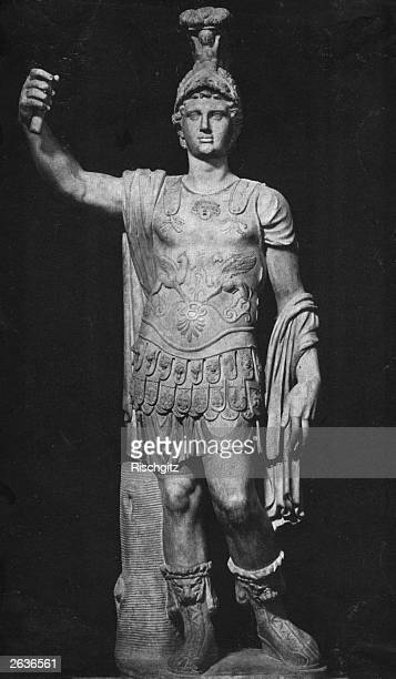 Statue of Alexander the Great , king of Macedonia, in the Capitoline Museum, Rome.
