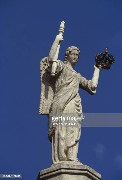 Statue of an angel, Grand Ducal Palace, 1545-1604, Luxembourg City, Luxembourg.