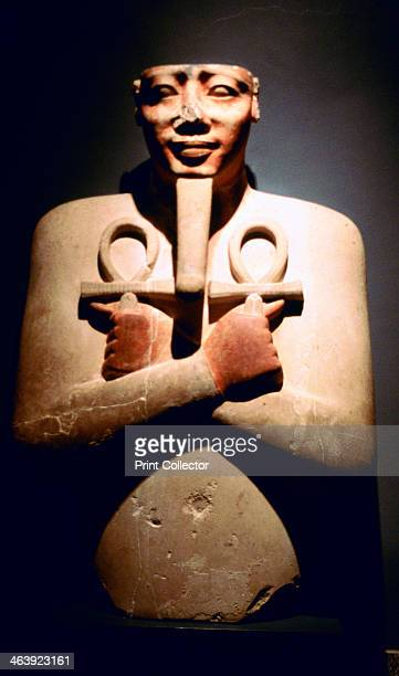Statue of Ancient Egyptian pharaoh Tuthmosis III Luxor 18th Dynasty 15th century BC Tuthmosis III ruled Egypt from 14791426 BC initially with his...