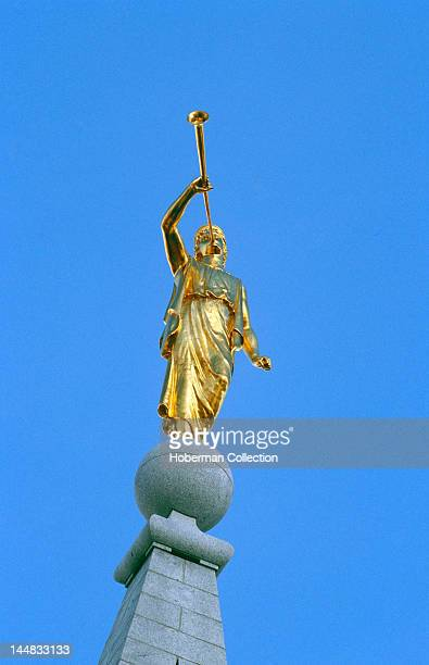 Statue of Angel Moroni at Birmingham Alabama Temple Washington DC North America