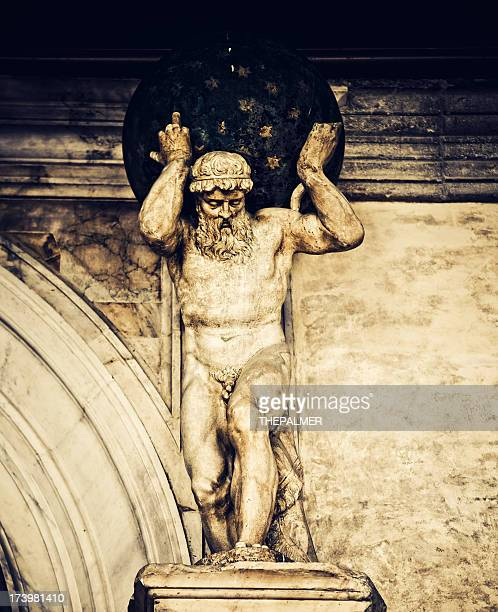 Statue of Atlas at Doges Palace