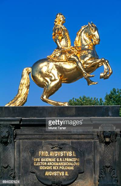 Statue of August the Strong (Golden Rider) in Dresden