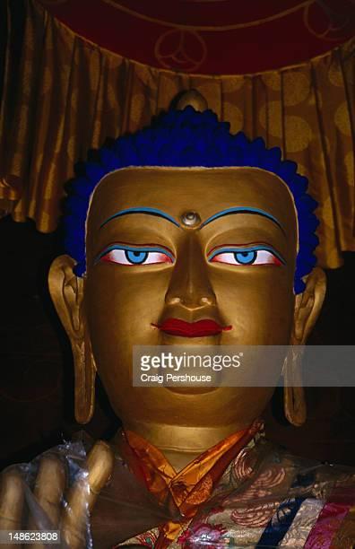 Statue of Avalokiteshvara (Chenresig), the patron deity of Tibet.