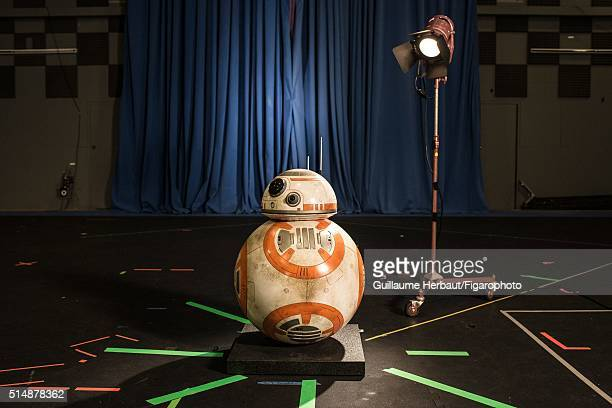 Statue of BB8 is photographed for Le Figaro Magazine on November 25 2015 at Industrial Light Magic in San Francisco California PUBLISHED IMAGE CREDIT...