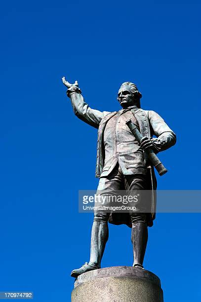 Statue of Captain James Cook Hyde Park Sydney New South Wales NSW Australia