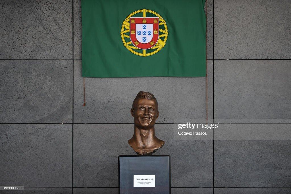 Ceremony at Madeira Airport to rename it Cristiano Ronaldo Airport : News Photo