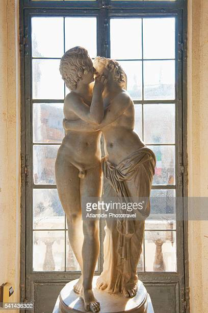 Statue of Cupid and Pysche at Musei Capitolini