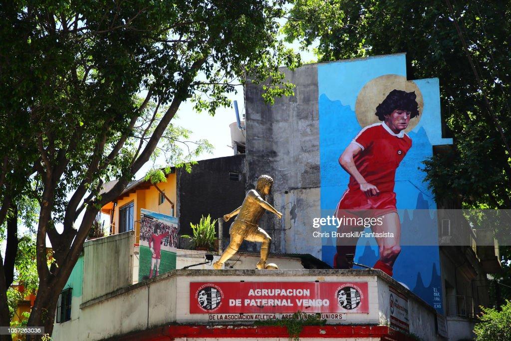 Argentinos Juniors v Independiente - Superliga 2018/19 : Foto jornalística