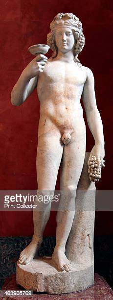 Statue of Dionysus God of Wine and patron of wine making Roman after a Greek model of the 4th century BC Found in the collection of The Hermitage St...