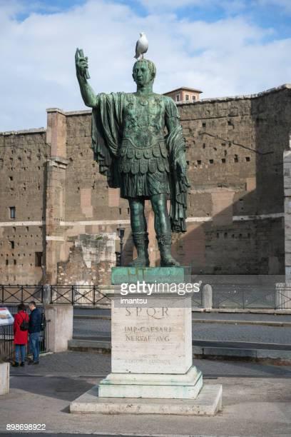 Statue of emperor Nervae Augustus