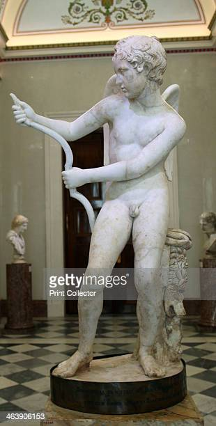 Statue of Eros drawing his bow 2nd century Roman after a Greek original of the second half of the 4th century BC by Lysippos In Greek mythology Eros...