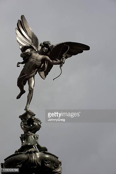 statua di cupido - mitologia greca foto e immagini stock